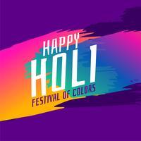 indian happy holi festival greeting background