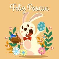 Häschen Feliz Pascua