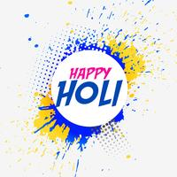 abstract happy holi colors background