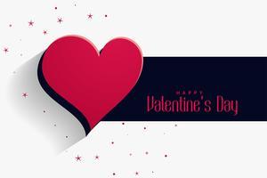 lycklig valentines dag hjärta bakgrund