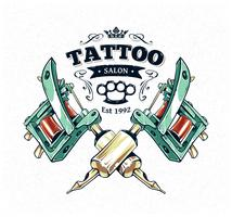 Affiche de studio de tatouage