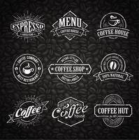 Hand-drawn Coffee Stamps