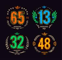 Gangster lucky numbers vector
