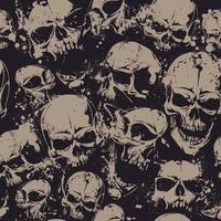 Crânes de grunge sans soudure