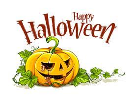 Helloween pumpkin vector