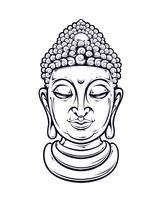 Bouddha de vecteur