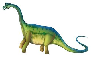 Brachiosaurio vector