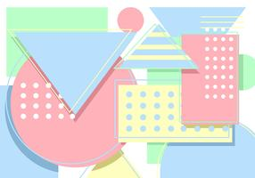 Geometric Pastel Background