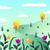 Lente Wallpaper Vector