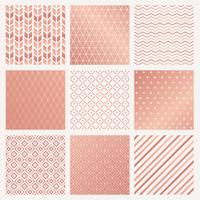 Rose gold background collection