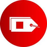Vector etiketten pictogram