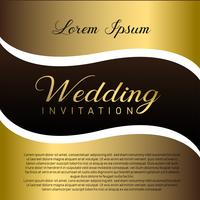 Wedding Invitation Card With Text Place