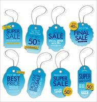 Collection de vecteurs Design Vintage Style Sale Tags