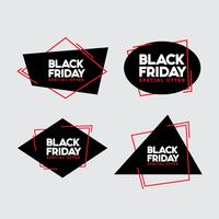 Black Friday verkoop vectorillustratie