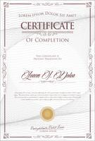 Elegant certifikatmall