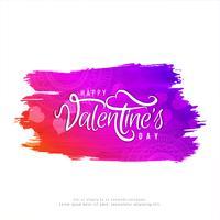 Stylish Happy Valentine's Day background