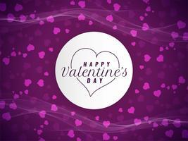 Abstrakt Glad Valentinsdag elegant bakgrund