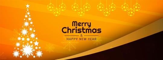 Abstrakt Merry Christmas festival banner mall