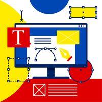 Grafikdesign-Software-Illustrations-Vektor