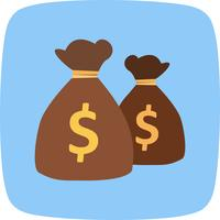 Money bags Vector Icon