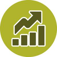 Growth Vector Icon