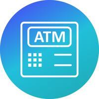 ATM-machine Vector Icon