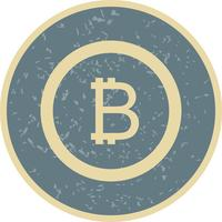 Bitcoin Vector Icon