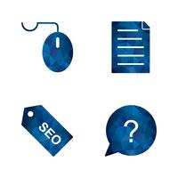 Set of Vector SEO Search Engine Optimization Icons