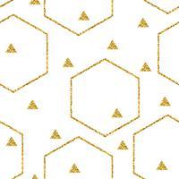 Abstrakt geometrisk sömlös mönster
