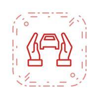 Autoverzekering Vector Icon