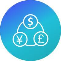 Money Flow Vector Icon