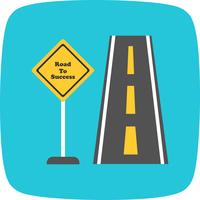 Road to success Vector Icon