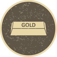 Icône de vecteur d'or