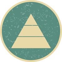 Pyramid Vector Icon