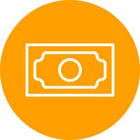 Bank note Vector Icon