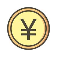 yen vector pictogram