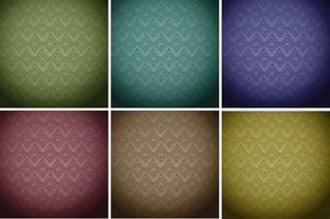 Telhas de papel de parede em cores