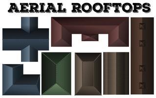 Anderes Design von Dächern
