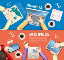 Infográfico design com tema de negócios