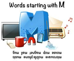 Words Starting with Letter M