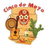 Cinco de Mayo. Ilustración vectorial