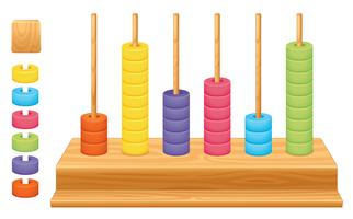 Mathematical place value abacus