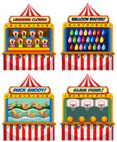 A Set of Fun Fair Tents