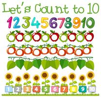 Math Count Number Template