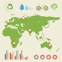 Eine Infografik mit einer Karte