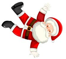 Break dancing santa clausule