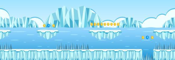 Jeu de numismatique Iceberg Scene