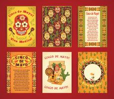 Cinco de Mayo. Big set of vector templates.