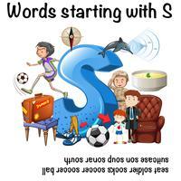 Palavras que começam com letra S