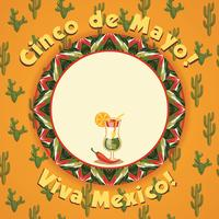 Cinco de Mayo. Vector background